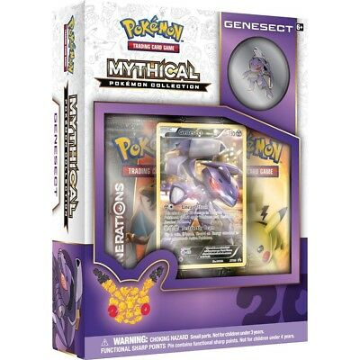 Pokemon TCG Generations :: Mythical Pokemon Collection - Genesect :: Sealed Box!