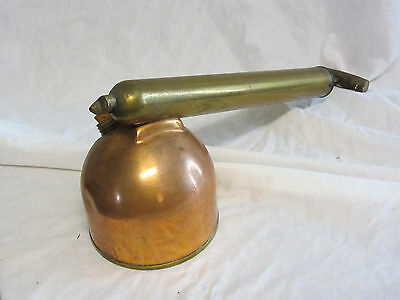 Antique Copper And Brass All In One Garden Bug Sprayer. R E Chapin Ny.