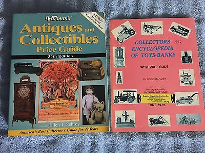 Warren's Antiques & Collectibles 36th edition, Collectors Encyclopedia of Toys
