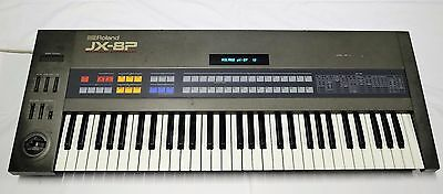 Roland JX-8P Vintage Analog Synth - local pickup but will provide freight quote.