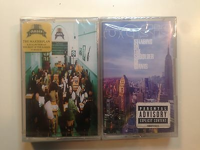 Oasis Standing On The Shoulder Of Giants, The Masterplan  - 2  Sealed Cassette