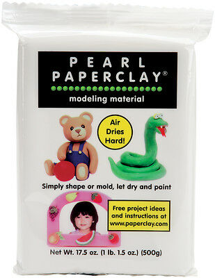Pearl Paperclay 16oz White 711