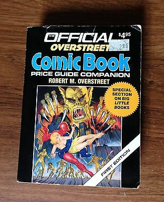 1987 The Official Overstreet Comic Book Price Guide Companion 1st Edition