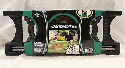 EastPoint Sports Horseshoe Set with Deluxe Case