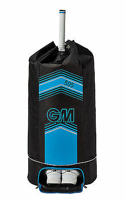 Gunn & Moore GM Cricket 505 Heavy Duty Large Duffle Kit Bag With Straps