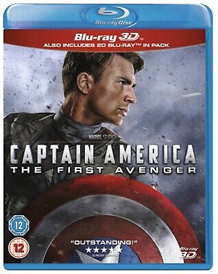 Captain America: The First Avenger (3D Edition with 2D Edition) [Blu-ray]