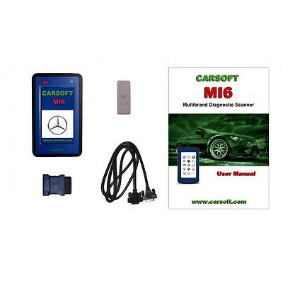 Carsoft MI6 - Mercedes & Sprinter edition - OEM coverage currently up to 2015 !!