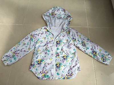 Beautiful Girls Showerproof Coat Jacket Age 6 (5-6) Pumpkin Patch Floral