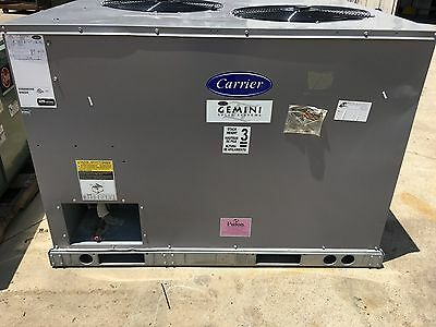 CARRIER 7.5 TON 460V 3 PHASE 38AUZA08A0A6A0A0A0 Commercial Split-System