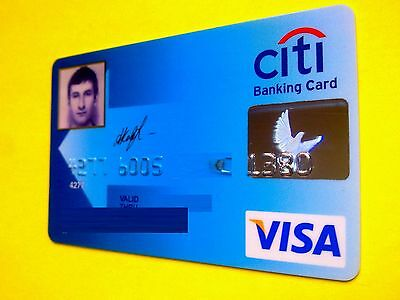 Russia Visa CITIBANK with Foto