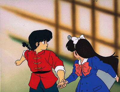 Ranma 1/2 ~ Production Anime Cel ~ Japanese Animation Cel