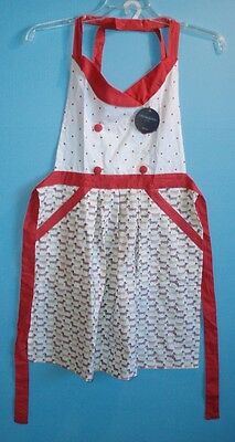 Hot Dog Dachshund Cotton Apron by Cynthia Rowley