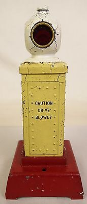 "Lionel #83 Prewar Traffic And Crossing Signal For ""0"" Gauge-Fair+ Original!"