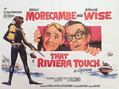 """That riviera touch 16"""" x 12"""" Reproduction Movie Poster Photograph"""
