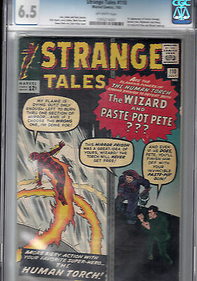 STRANGE TALES #110 CGC 6.5 OW * 1st Doctor Strange, Ancient One, Nightmare, Wong