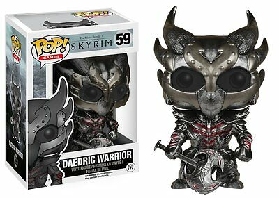 Funko Pop Games Skyrim: Daedric Warrior Vinyl Action Figure Collectible Toy 5268