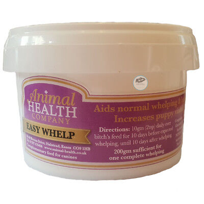 Easy Whelp Feed supplement to aid normal rapid whelping Less disease viable pups