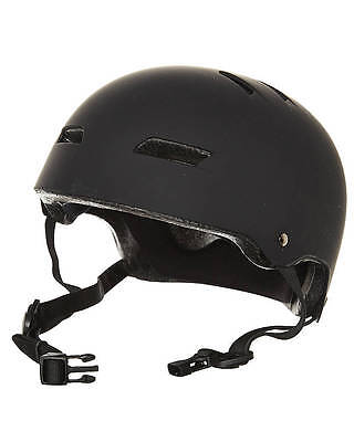 Globe Slant Helmet Matte Black FREE POST New Skateboard Free Ride Scooter Lid