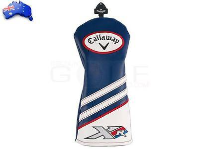 Callaway Golf Xr X R Fairway Wood Sock Headcover Head Cover Blue/white