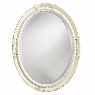 """Vintage Glamour Baroque Oval Wall Vanity Mirror Decor 25""""x33"""" Choice of 5 Colors"""