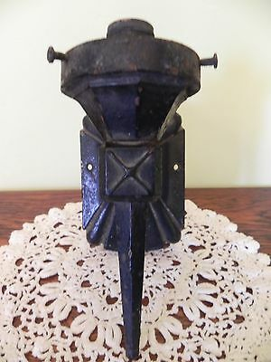 Vintage Cast Iron Electric Wall Sconce