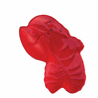 20801 Red Lobster Spoonrest Kitchen Cooking Tray Holder Ocean Nautical Seafood