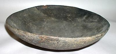 "CHUPICUARO Culture Pre-Columbian Large 9 1/2"" Blackware Bowl C. 300 BC -100 AD"