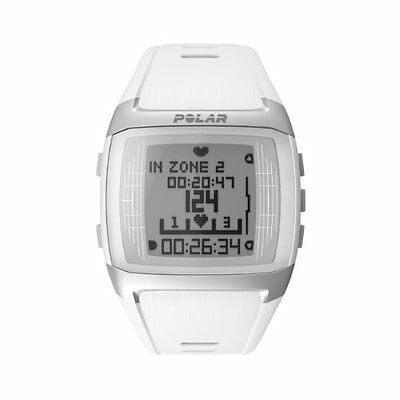 Polar Womens FT60 Heart Rate Monitor and Sports Watch - White
