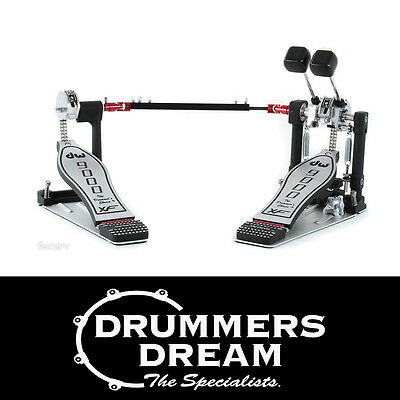 New DW 9000 Series Double Bass Drum Kick Pedal + Case - DWCP9002XF RRP $1299