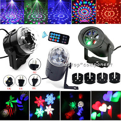Mini RGB LED Laser Projector Club DJ Disco Bar Stage Lighting Lights Xmas Party