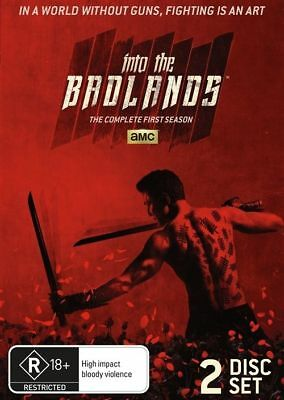 Into The Badlands : Season 1 (DVD, 2016, 2-Disc Set) (Region 4) Aussie Release