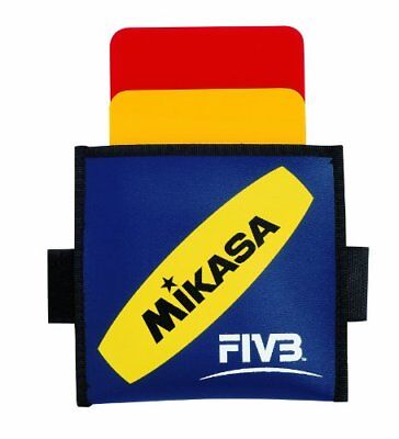 Mikasa volleyball warning card volleyball referee for the Red / yellow VK