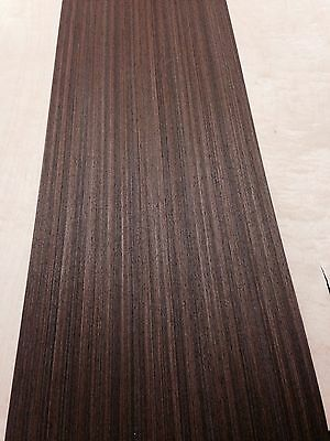 Wenge Veneer, wood veneer sheet, 2500mm x 310mm - real wood