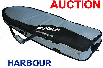 New HORNSAY Double Surfboard Surfing Board Bag Cover 7'0 7'6 8'6
