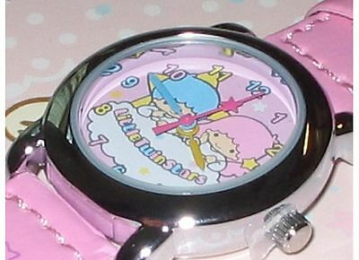New 2009 Sanrio LITTLE TWIN STARS Stainless Steel Back Watch