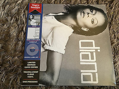 Diana Ross - Diana - Sealed CLEAR 180g Vinyl LP I'm Coming Out Upside Down