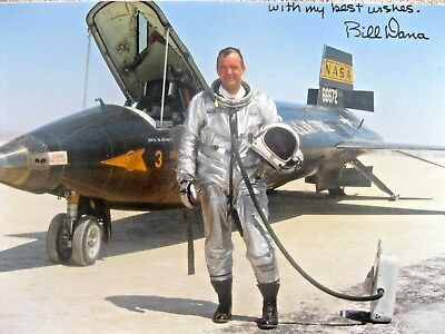 Space - Aviation Bill Dana - X15 Pilot - Signed (Uninscribed)