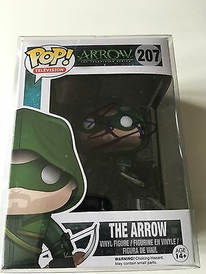 Stephen Amell Signed funko Pop From Arrow