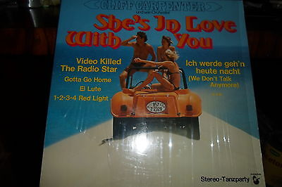 LP Cliff Carpenter   She's in Love with you    Hansa