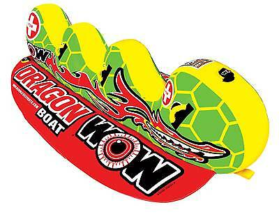 WOW Watersports DRAGON BOAT - Inflatable Tube Biscuit Water Toy
