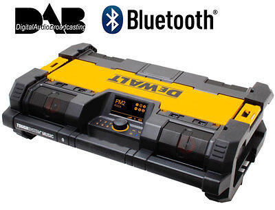 Dewalt DWST1-75563-GB 18v ToughSystem DAB/ Bluetooth Jobsite Radio