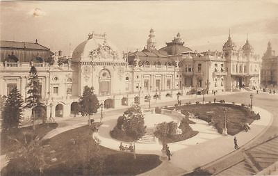 1 postcard Monaco Casino pc61