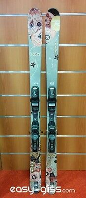 Skis Rossignol Trixie D'occasion + Fixations