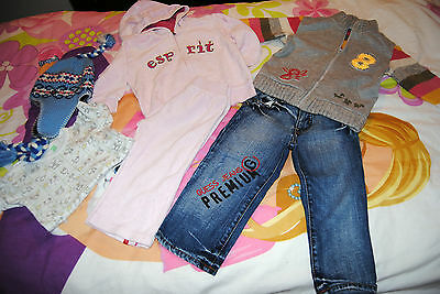 lotto BIMBA BAMBINA18MESI GIRL guess original marines prenatal
