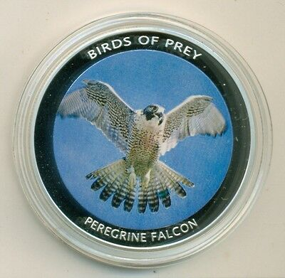 Malawi 2010 10 Kwacha Large 50mm Peregrine Falcon Proof UNC BU