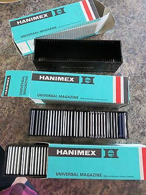hanimex universal magazine slide box 2 complete with with slides