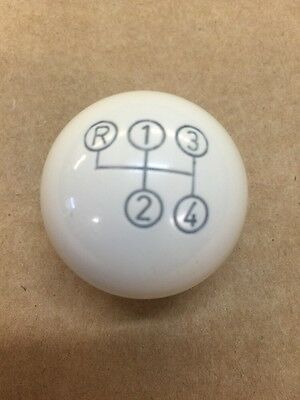 Manual Shift Knob Ivory Color 4 Speed For Mercedes W110 W111 W113