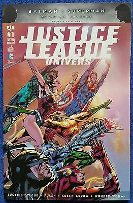 JUSTICE LEAGUE UNIVERS 1 Mars 2016 Urban Comics VF Comme Neuf