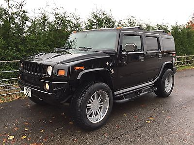 Hummer H2 Luxury Show Car Black 14,400 Genuine Miles