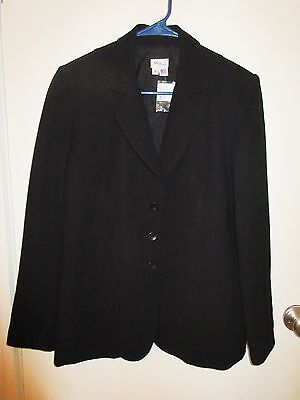 Mimi Maternity Size Small Black Lined Blazer Jacket – Nwts